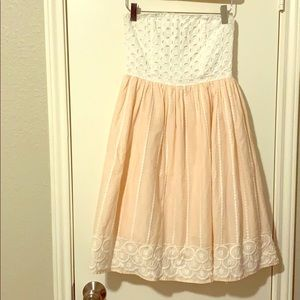 Strapless H&M Dress